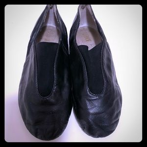 Bloch Jazz Shoes Black Leather Size 1